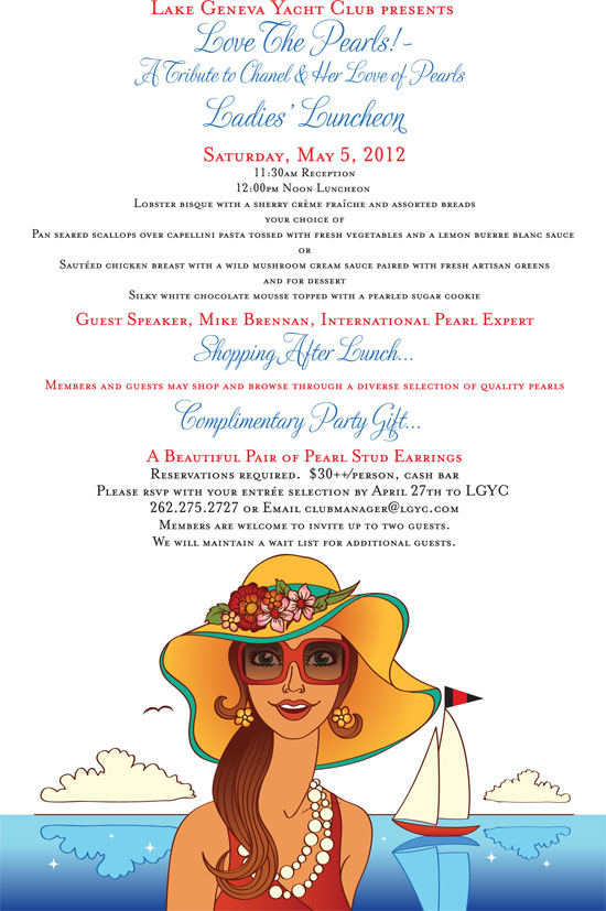 2012 Spring Luncheon Invitation