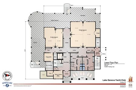 LGYC Building Plan - First Floor