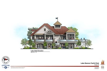 LGYC Building Plan - North Exposure
