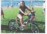 Independence Day biker