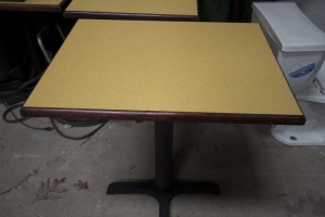 Dining Tables - (5-30x24) - (7-30x30) --- $25/Table