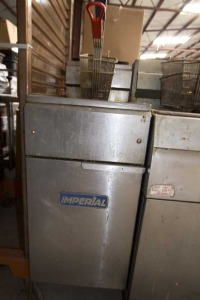 Imperial Fryer - Gas - 14x24 --- $600