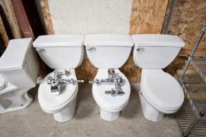 Toilets (5) White - $75/Toilet