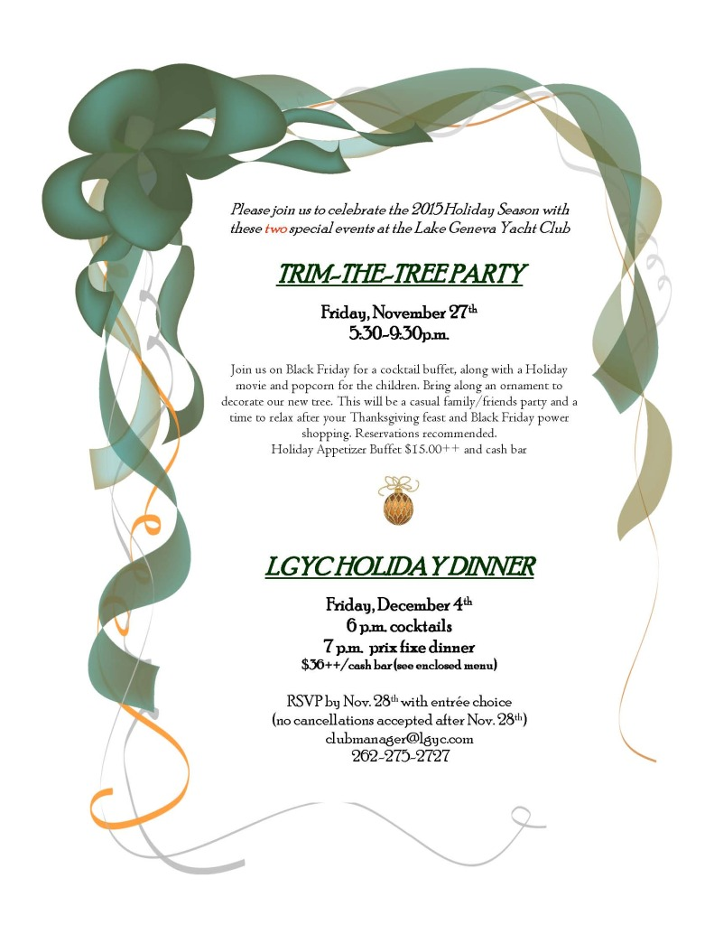 LGYC 2015 Holiday Party
