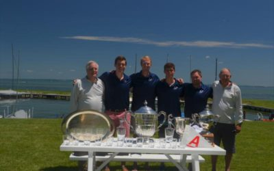 Chuck Lamphere wins historic Felker Cup and A Scow Nationals with two sons on board, Freytag finished 2nd