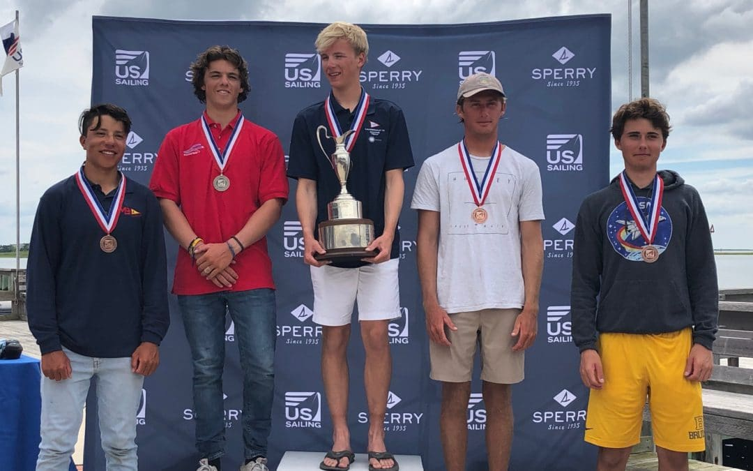 Chapman Petersen Wins 2019 US Sailing Youth Champs – Laser Radial